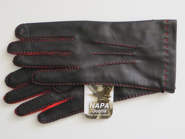 146291ec7c2 Rukavice NAPA 2-4365 černá červená ČH