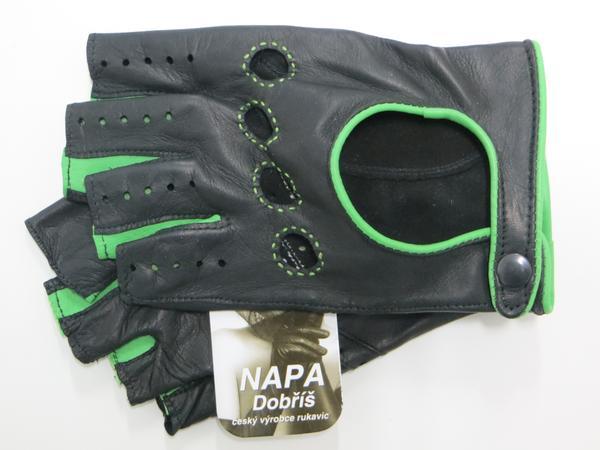 Rukavice NAPA 2-3428 BP černá zelená  28dbc97b9c