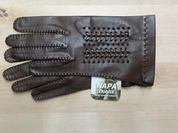 Rukavice NAPA 2-3311 hnědá e356dea7ae