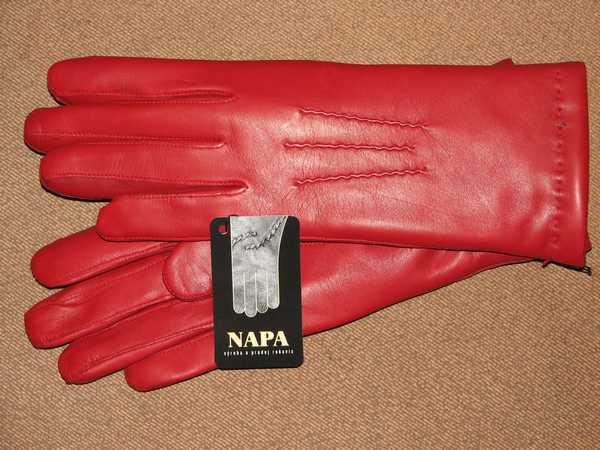523e16ccf2b Rukavice NAPA 2-4168 červená králík
