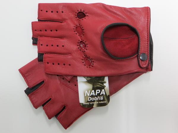 736d4fd5b17 Rukavice NAPA 2-3428 BP červená černá