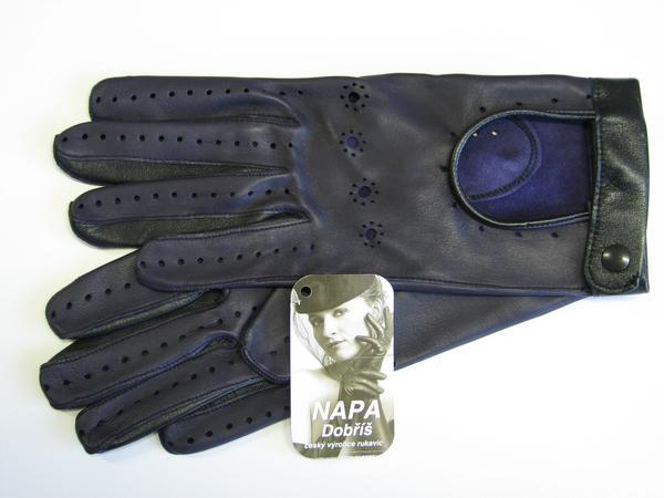 Rukavice NAPA 2-3323 fialová černá  bbd1c03506