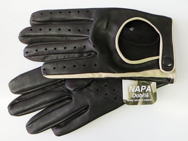 58cd623b8c1 Rukavice NAPA 2-1456 černá  bříza